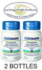 2X Life Extension European Leg Solution Certified Diosmin 95 600mg - 30 Tablets