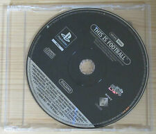 This is Football - Promo Gioco Completo - New - PlayStation 1 - PSX