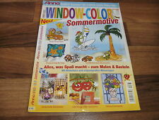 ANNA SPECIAL WINDOW COLOR -- SOMMERMOTIVE // BLUMEN-WINDLICHTER-STRAND-IDYLLE