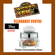 Tiffany 17 Litre Turbo Convection Oven Fat Free Cooking OVT01 FREE SHIPPING-NEW