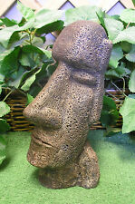 "11"" Easter Island Head Tiki Latex Fiberglass Production Mold Concrete Plaster"
