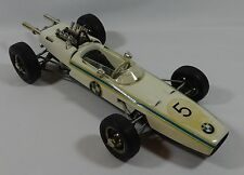 Schuco #5 BMW Formel 2 1072 1:16 Germany Wind-Up Metal Toy Race Car Vintage
