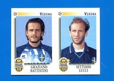 CALCIATORI PANINI 1997-98 Figurina-Sticker n. 592 -BATTISTINI-LUCCI VERONA-New