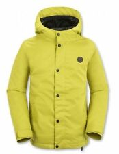 2016 NWT BOYS VOLCOM WOLF INSULATED SNOWBOARD JACKET $120 M citronelle green