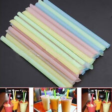 33PCS Colorful Bubble Boba Pearl Tea Party Smoothie Jumbo Thick Drinking Straw