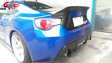 SUBARU BRZ TOYOTA SCION FRS FR-S GT86 FT86 FT-86 ZN6 CARBON TRUNK WING SPOILER