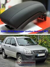 2005-2010 KIA Sportage Double heightened Leather Armrest Console & Storage Box