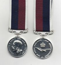 ROYAL AIR FORCE LONG SERVICE AND GOOD CONDUCT MEDAL GEO.V. SUPERB REPLICA