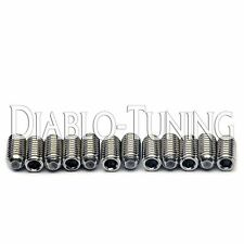 6mm Stainless Steel Tremolo Saddle Height Adjustment Screws - For Ibanez Guitars