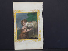 Sheep, John the Evangelist Hand Colored, #80