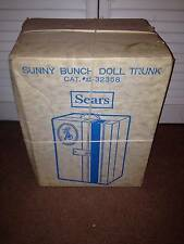VINTAGE SUNNY BUNCH DOLL TRUNK (SEARS)    NEW IN BOX   NEVER OPENED  WOW