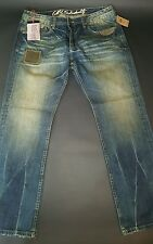 CULT OF INDIVIDUALITY HAGEN RELAXED M'S VINTAGE JAPANESE DENIM SZ 38 #628 251B