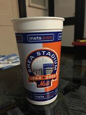 NY Mets Shea Stadium 2008 Fan Collector Cup Final Year BRAND NEW 32 oz