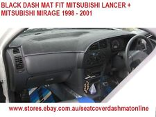 DASH MAT, BLACK DASHMAT MITSUBISHI LANCER + MITSUBISHI  MIRAGE 1998 - 2002,BLACK