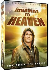 Highway to Heaven Complete Series Season 1 2 3 4 5 Collection DVD Set Episode TV