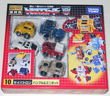 Transformers Encore Minibots 10 Takara G1 Bumblebee Figure New Japanese set Pack