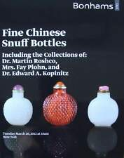 CATALOGUE  VENTE : SNUFF BOTTLES (flacons à tabac chine,chinese,chinois)