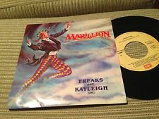 "MARILLION - SPANISH 7"" SINGLE SPAIN FREAKS live / KAYLEIGH live - HARD ROCK"