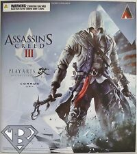 "CONNOR KENWAY Assassin's Creed 3 Play Arts Kai 10"" inch Figure Square Enix 2014"