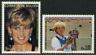 Bolivia 1023-1024, MI 1362-1363, MNH. Diana, Princess of Wales. Portrait, 1997