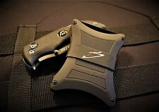 Tactical Military front pocket wallet by bench built.