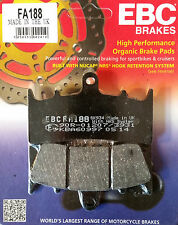 EBC/FA188 Brake Pads (Front) - Kawasaki ZX6R, ZX636, ZX7R, ZRX1100, ZRX1200
