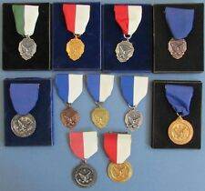 1950's/60's ROLLER SKATING SPEED RACING MEDALS * 11 DIFF * FREE USA SHIP M1959