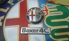 ALFA ROMEO 33 BOXER 4C. LOGO SCRITTA NUOVA E STEMMA BADGE USATO ORIGINALE