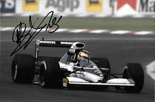 Mark Blundell SIGNED ,Brabham-Yamaha BT60Y , Mexican GP Mexico City 1991