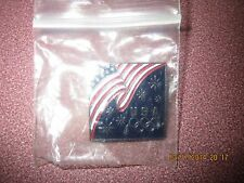 COLLECTIBLE USA OLYMPIC TIC TAC TYPE PIN AMERICAN FLAG METAL AND ENAMEL