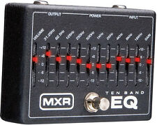 Dunlop MXR Series M108 10-Band Graphic EQ Equalizer Foot Pedal