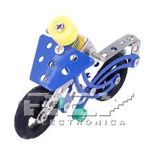Moto Carrera Juguete 51 Piezas Metal Perforadas Construcción Niños + 8 Años j135