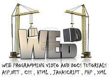 Web Programming Video&Doc Tutorials 1x DVD
