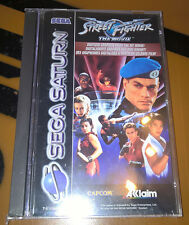 # Street Fighter The Movie-Sega Saturn juego-productos nuevos/new/sealed #