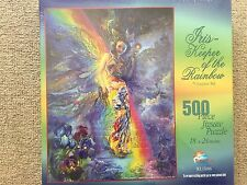 IRIS-Keeper Of The Rainbow By Josephine Wall Puzzle 500 Pezzi, Nuovo