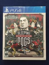 Sleeping Dogs: Definitive Edition Limted Edition w/ Artbook (PlayStation 4, PS4)