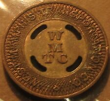 1951 West Memphis, AR Transportation Co. Transit Bus Token - Ark. Arkansas #2