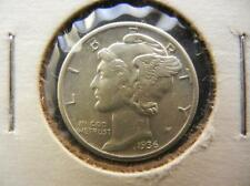 1936 Mercury Dime. Nice Condition. Lot 39