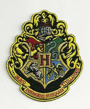 Harry Potter Hogwarts School Crest Logo Large Version Embroidered Patch NEW