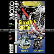 MOTO LEGENDE N°133 SUZUKI GT 380 550 GUZZI V7 S RICKMAN METISSE T150 DKW 250 350