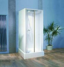Kinedo Consort Saloon Door Shower Cubicle Pod 815mm x 815mm Silicone Free Cabin