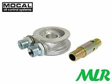 MOCAL OIL COOLER TAKE OFF SANDWICH PLATE VENTO PASSAT BORA CORRADO GOLF VR6 SX6