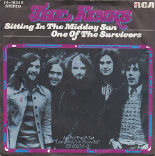 """Single 7"""" The Kinks """"Sitting in the Midday Sun/One of the Survivors"""""""