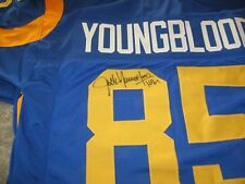Rams Jack Youngblood signed Jersey w/COA