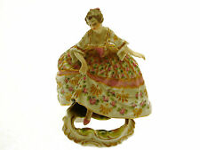 Antico SEVRES hand painted Risque Lady figura …