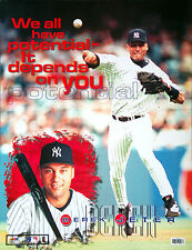 Derek Jeter POTENTIAL New York Yankees Rare 1999 Motivational POSTER