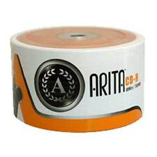 1 x 50 ARITA 52X 700MB Branded CD-R with plastic sleeves - great all round disc-
