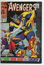 MARVEL COMICS  THE AVENGERS  51  1967  SHARP COPY