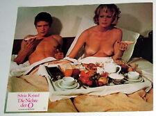 Sylvia Kristel  DIE NICHTE DER O  original Kino Aushangfoto