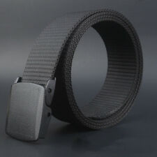 Wild-Men-Canvas-Belt-Hypoallergenic-Metal free-Plastic-Automatic-Buckle